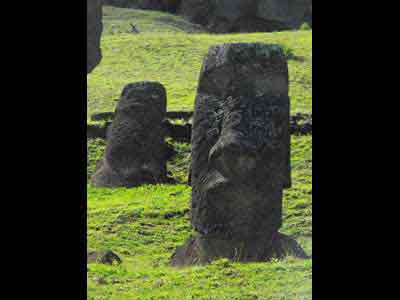 Moai Waiting