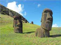 Maoi at Rano Raraku Easter Island